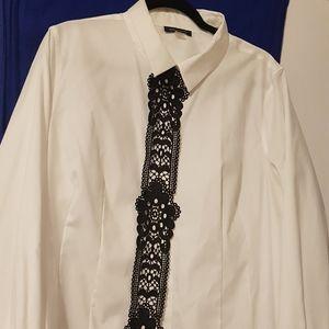 Tommy Hilfiger pristine white blouse